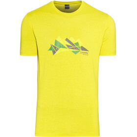 Schöffel Barcelona2 Bluzka z krótkim rękawem Mężczyźni żółty